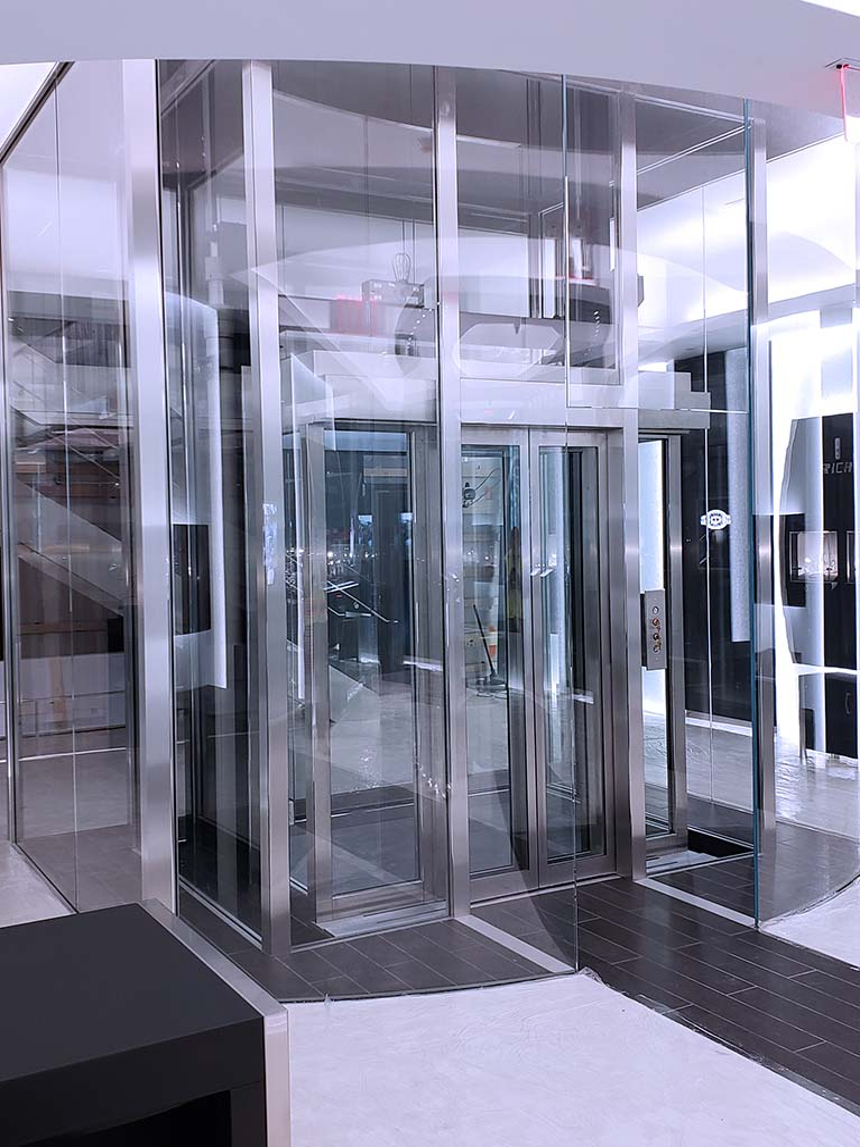 Commercial elevator design