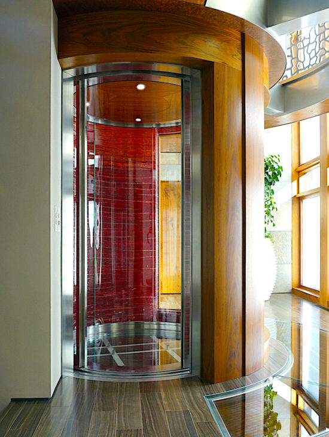 Luxurious elevator design