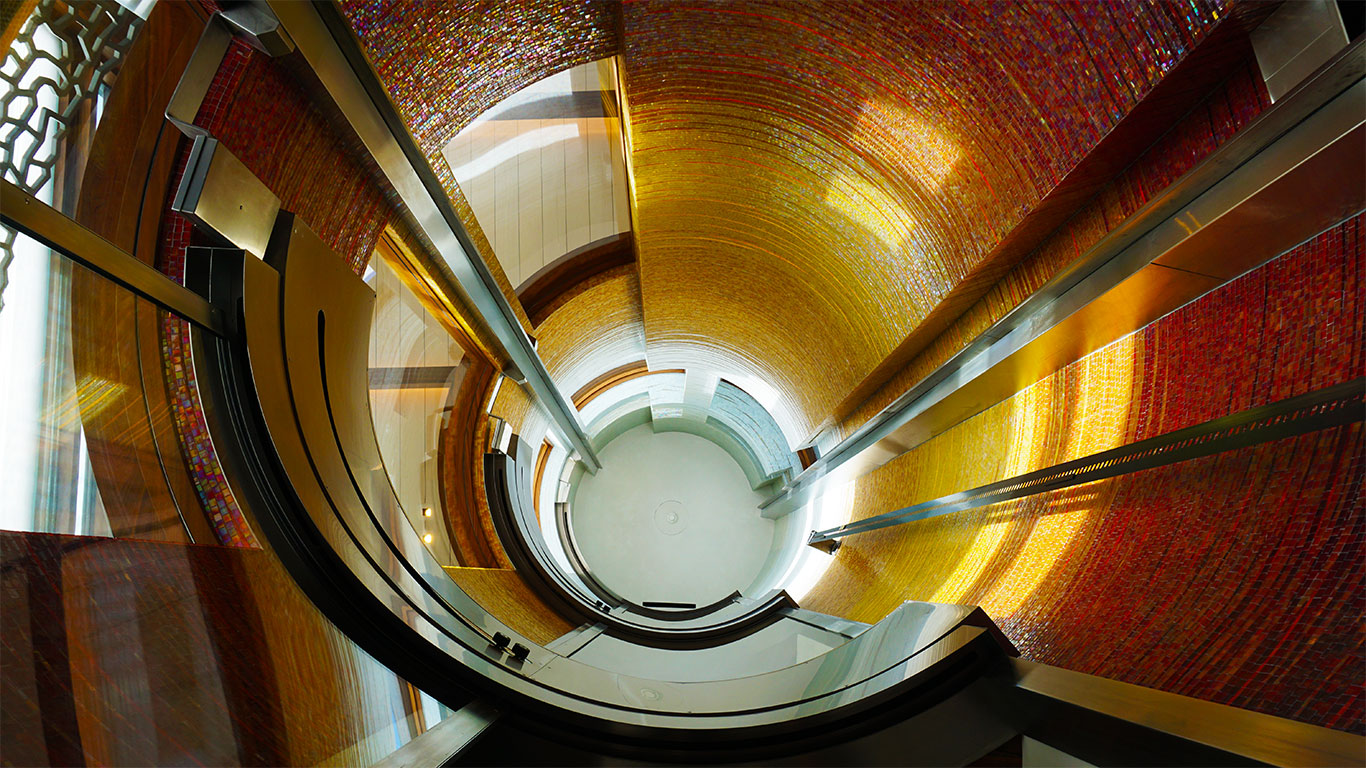 Elevator shaft design