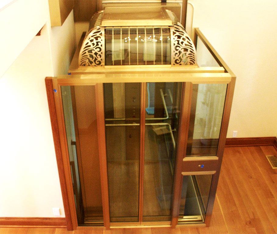 glass elevator design