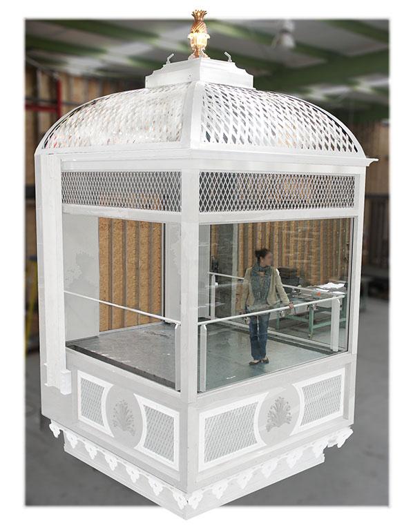 Birdcage elevator