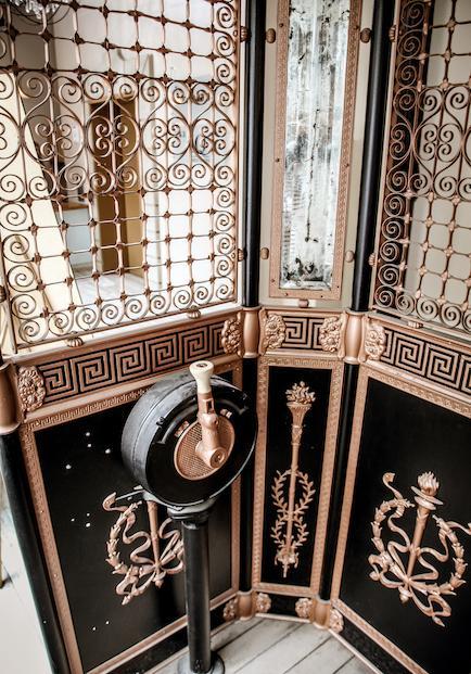 Best wrought iron elevator