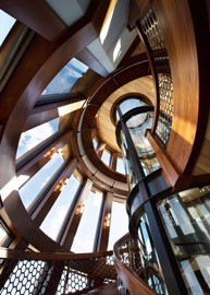 Design of elevator shaft is a key factors to consider when designing a luxury home with a custom elevator