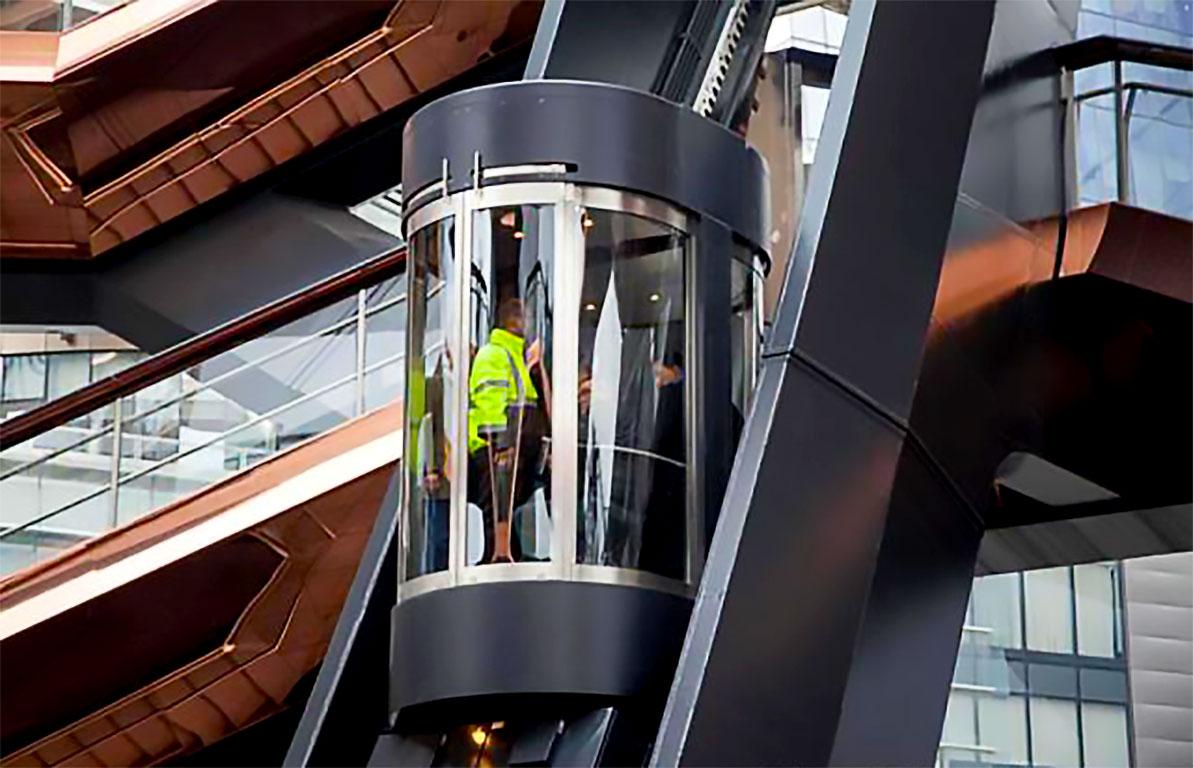 Hudson Yards special elevator