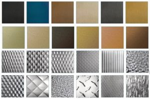 elevator stainless steel types